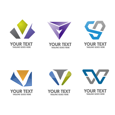 minimal: simple letter