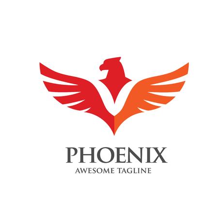flame logo: phoenix consulting logo