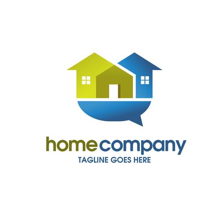 house , house , real estate community logo