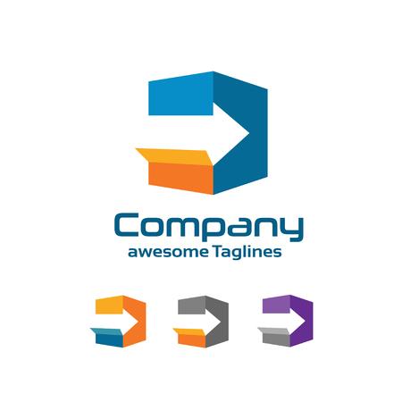 Fast delivery service logo Reklamní fotografie - 54448683
