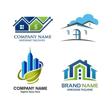 estate: Real Estate Logo Set