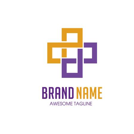 logo recyclage: sant� Cross ainsi que le logo m�dical Illustration