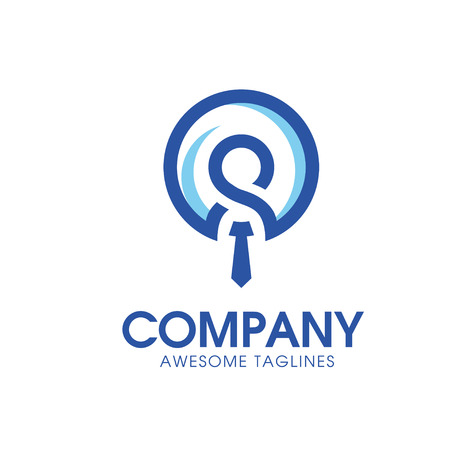 leadership and Recruitment agency logo concept, staff choice logo 일러스트