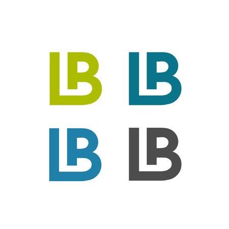 modern BL, LB letter creative logo vector, LB logo concept, LB letter abstract logo concept