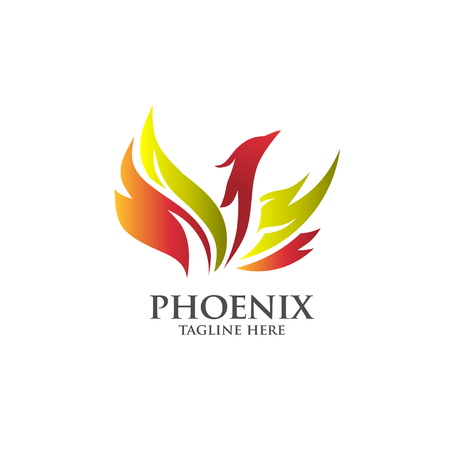 Best luxury phoenix consulting element logo vector concept