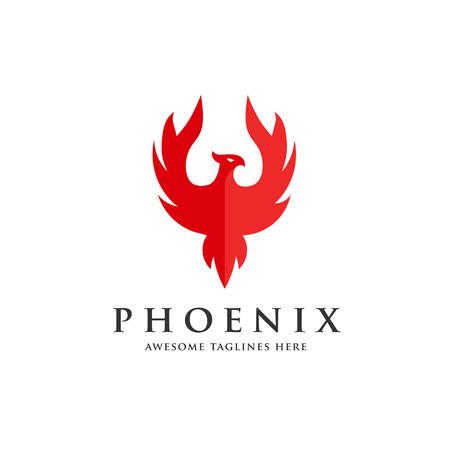 Luxury phoenix icon concept, best phoenix bird design vector icon. 版權商用圖片 - 98545110