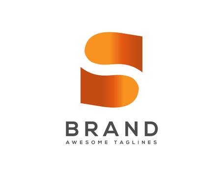 Letter S logo icon design template elements. Logo initial letter S.Business corporate letter S logo design vector. Ilustração