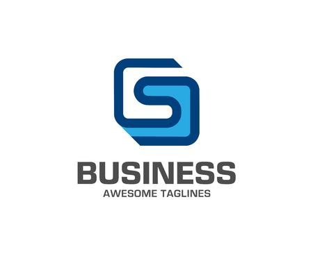 creative Letter S logo icon design template elements. letter S logo lines design vector. Ilustração
