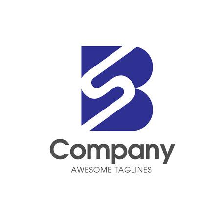 Letter SB Modern Logo Design Template Vector Ilustrace