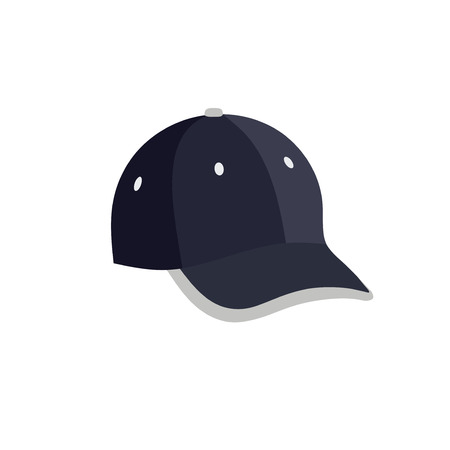 baseball cap sport fashion clothing head vector ,Sports playing and training cap hat vector  イラスト・ベクター素材
