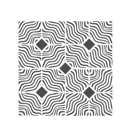 Wave pattern design graphic for floor and wall tile vector.Wavy lines background.Modern wavy lines pattern.Abstract background with wave line