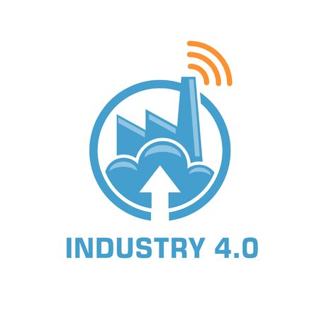 industry 4.0 manufacturing revolution concept vector illustration Foto de archivo - 138368612
