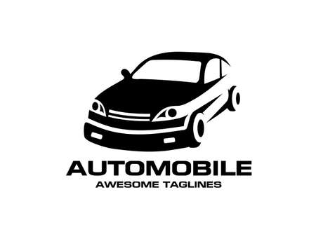 abstract Automotive Car service vector logo design template illustration