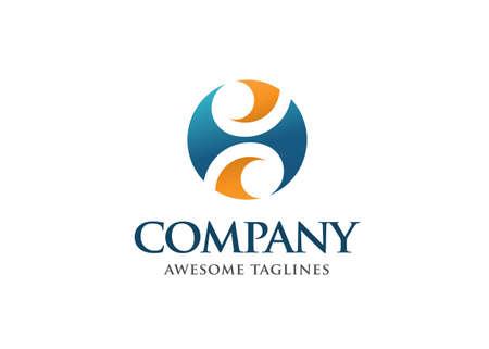 Initial Letter SH Logo Design Vector Template. SH Letter Logo Design