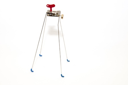 mini toy robot on four legs photo