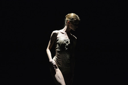 choreographer: BELGRADE, SERBIA - APRIL 19: Ballet Romeo and Juliet by choreographer Edward Clug performed with music of Radiohead in Sava Center in Belgrade, Serbia on April 19, 2016