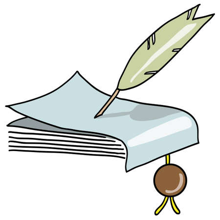 poet: The feather writes the manuscript