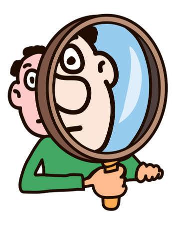 Magnifier Stock Vector - 8677825