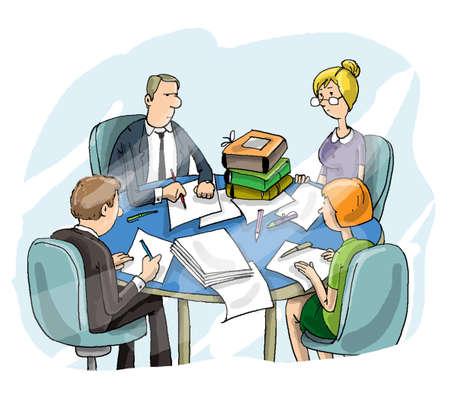 administrador de empresas: Informe de la Oficina
