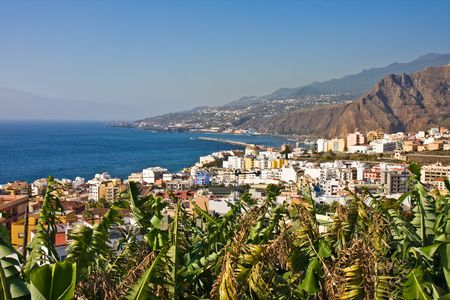 Beautiful coast of La Palma (Canary Islands)