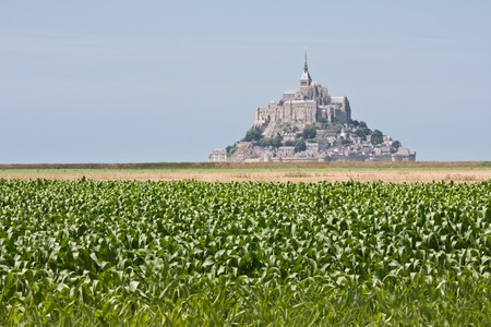 Mont Saint Michel in Normandy, France Stock Photo - 7481754