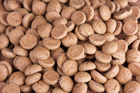 biscuts: Ginger nuts, Dutch sweets for the celebration of Sinterklaas at 5 december