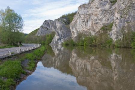 meuse: River Meuse in Belgium Ardennes