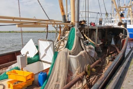 Dutch fishing ships in harbor of Urk Stock Photo - 13761010