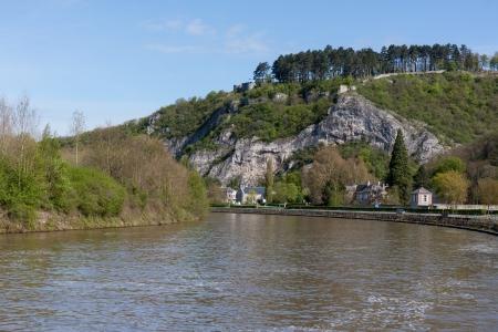 River Meuse in Belgium Ardennes