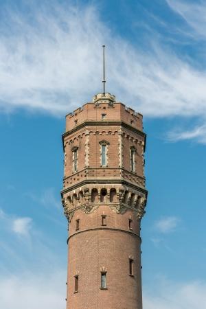 wody wieży: Old Dutch brickstone water tower