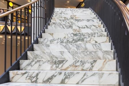 アールデコの大理石の階段