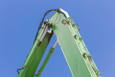 Crane with detail of a jib photo