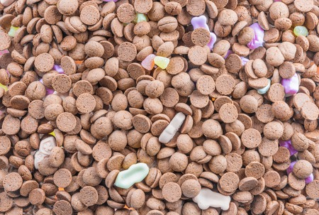 Background of ginger nuts, typical Dutch Sinterklaas sweets