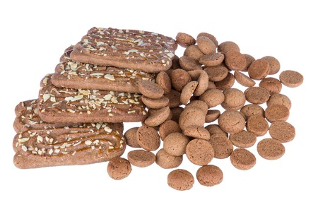 '5 december': Speculaas and ginger nuts, Dutch sweets at 5 december Sinterklaas party