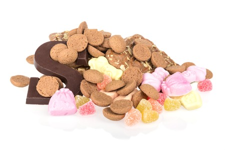 Colorful sweets of Dutch children photo