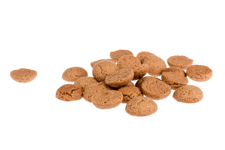 ginger nuts: Ginger nuts, typical Dutch candy for Sinterklaas event in december