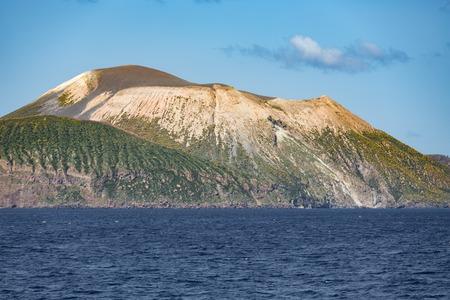 aeolian: View at Vulcano Island of Aeolian Islands near Sicily, Italy
