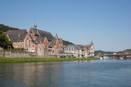meuse: Cityscape of Dinant along river Meuse, Belgium