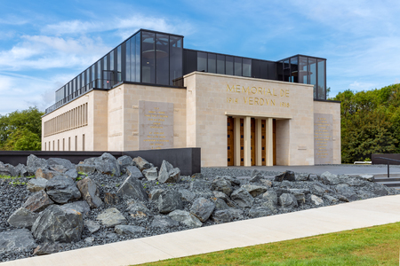 dilute: Memorial de Verdun, French museum about the First World War One battle near Verdun during 1914-1918 Editorial