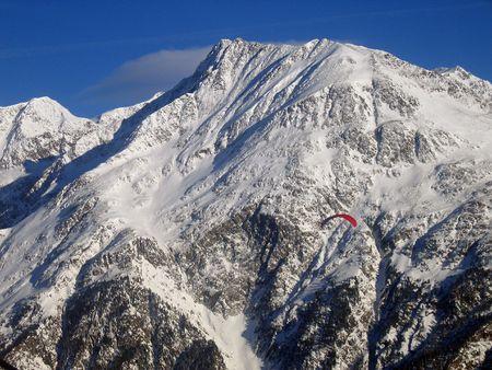 alpes: The Austrian Alpes Stock Photo