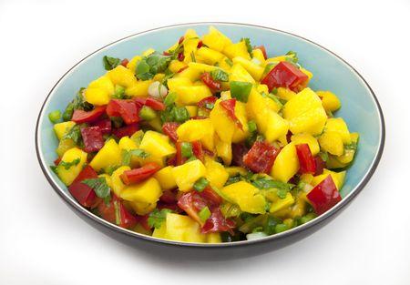 Kom van mango salsa