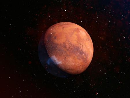 The planet mars Banco de Imagens