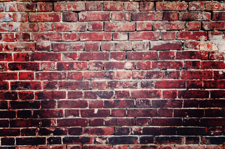 old brick wall in grunge style dark red colors Stock Photo - 124936749