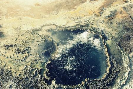 boiling: natural boiling pot