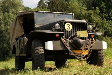 Amerykańskich wojskowych pojazdów Dodge WC 51 Zdjęcie Seryjne - 3901224