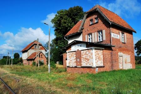 buliding: Abandoned railway station