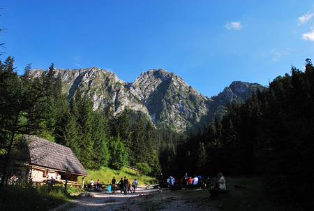 Giewont Mountain