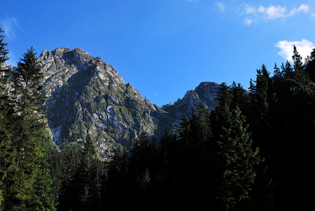 Giewont Mountain photo