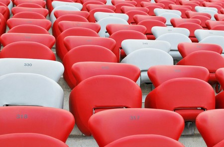 canadian football: Stadium Stock Photo