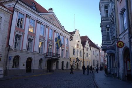 estonia: Tallinn, Estonia Capitol Editorial